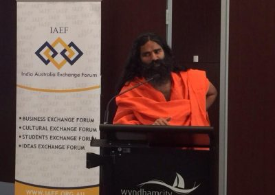 Baba Ramdev in WyndhamCity Business meet